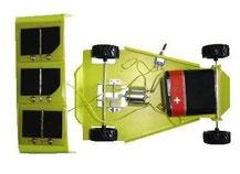 Prototype de voiture solaire