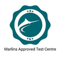 Marlins test center certificate
