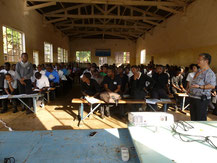 Seminar at High School, Zambia