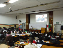 Seminar at UNZA, Zambia