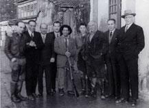 Manel Chichí, no centro. Foto: Bodas de Oro, Antonio Ocampo