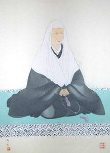 恵信尼画像(西念寺蔵)
