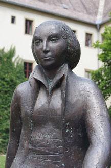 カタリーナ像(ヴィッテンベルク修道院にて)