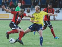 Christian Diener gegen Timo Klemm.