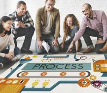 Organisation par processus pour générer des organisations performantes et la l'efficience durable.