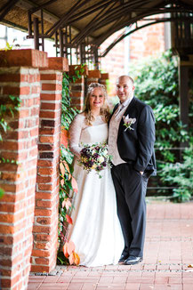 Katja und Lars beim Brautpaarshooting im Kloster Lüne Lüneburg