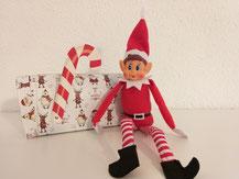 Ankunft von Elf in the shelf