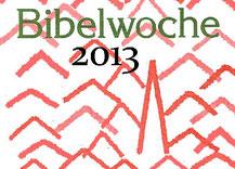Bibelwochenplakat
