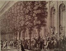 フランス革命 パレ・ロワイヤル フォワ