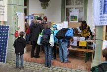 Unser Stand beim Lernfest 2014