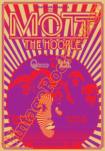 mott the hoople,Ian Hunter, Mick Ronson, Mick Ralphs, Peter Watts,new orleans,queen,babe ruth,1974.mott the hoople poster,rock,glam,classic rock