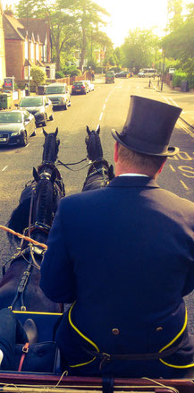Driving the Coach and four to Royal Ascot