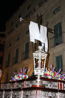 Trono Orfebrería Sevillana