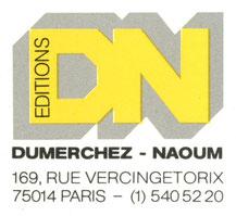 Naoum logo Bernard Dumerchez Bernard Editions Editeur