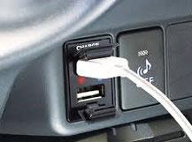 USB端子を純正っぽく延長