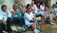 Reisen an Kraftorte, mit Pascal K'in Greub, Heiler und moderner Medizinmann, seit 13 Jahren in Mexiko wohnhaft (hier in Palenque, Januar 2013).