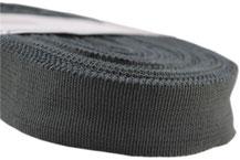 Futterband elastisch, 32mm Breite. Farben: navy, braun, weiß/creme, schwarz, grau