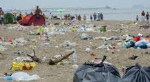 ... ein Strand nach Ferragosto.
