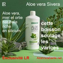 Soulager des Varices avec l'Aloe Vera Sivera de LR et la box aloe vera