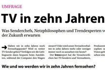 Christina Gruber kress report Zukunft des Fernsehens