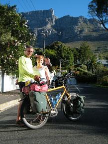 Stefanie Landherr, eine Ziemetshauserin in Kapstadt, empfing mich