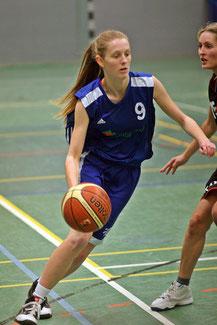 Katharina Scholz überzeugte mit 13 Punkten. Foto: Gust