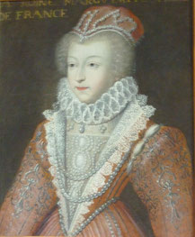 Marguerite de Valois. Château de Blois. (Source : Sylve VALENTIN)