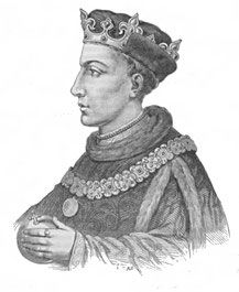 Henry V. Illustration from Cassell's History of England - Century Edition (Source : publiée par circa 1902,  téléversée par Kelson, Wikipedia)
