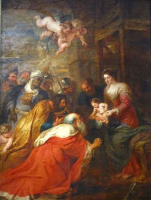 RUBENS - Adoration des Mages - 1634 - Cambridge
