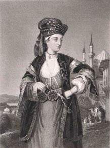 Lady Mary Montagu (1689-1762), escritora y viajera británica de la que destacan su correspondencia sobre el Imperio otomano. Por Wikimedia Commons