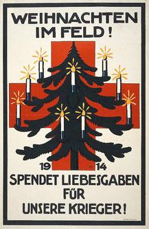 Spendenaufruf 1914.  Quelle: Wikimedia gem.-frei