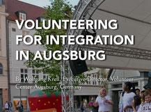 Willi und Freya - Grafik: Peter Lütke-Wissing - Freiwilligen-Zentrum Augsburg
