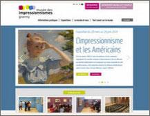 Musée des impressionnistes à Giverny . Hébergement Gite Chandoiseau