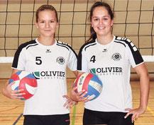 Sara Corneillie en Paula Tulin