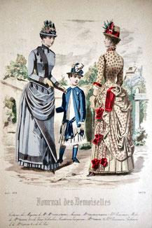 Journal des Demoiselles, August 1884.