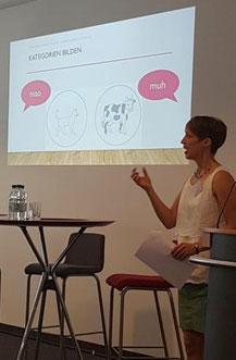 Kerstin Bosch: Kognitive Entwicklung und Spracherwerb. Vortrag beim Landesamt für Schulentwicklung
