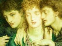 S. Solomon , Die Schlafenden u. der eine Wachende 1870