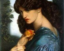 Dante G.Rosetti, Proserpina 1874