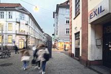 Das Göttinger Exil in der Prinzenstraße bietet im Rahmen des Kultur-Semestertickets Ermäßigungen für Studenten an.