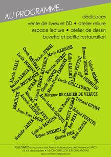 L'illustratrice Cloé Perrotin et autres talents littéraires au Salon du Livre de Châtillon-sur-Chalaronne 2017