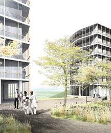 Architektur büro studioeuropa bureaueuropa Wettbewerb Schweiz