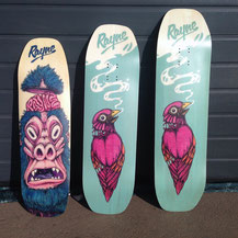 Rayne 2015 decks: Catalyst, Renegade, Phantom