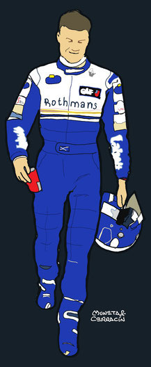 David Coulthard by Muneta & Cerracín