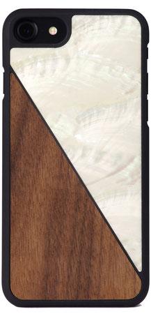 Iphone 6s Hülle Aqua Nuss Weiß