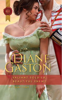 Valiant Soldier Beautiful Enemy by Diane Gaston