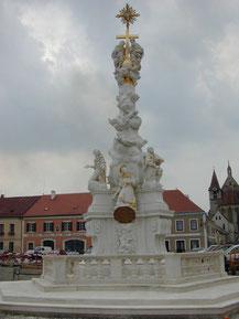 Dreifaltigkeitsäule in Eggenburg
