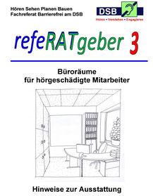 Deckblatt des refeRATgeber 3