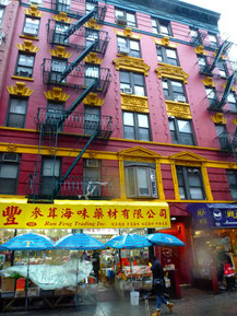 Bild: Chinatown in New York