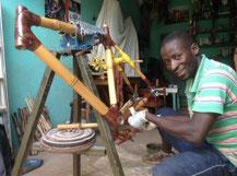 Bambus Rahmen hergestellt in Uganda