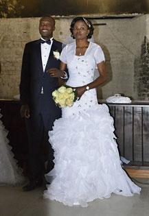 Malakia und Ndapunikwa sind nun ein Paar